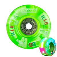 iLLUMIN8 LED Light Up Wheels 2/pack [62x36mm] [Green]